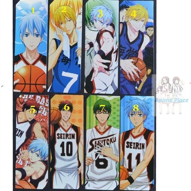 Закладка Баскетбол Куроко